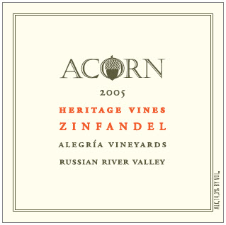 Copyright © 2005 Acorn Winery