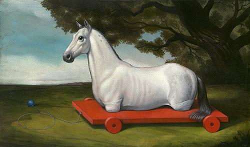 Amputated Horse