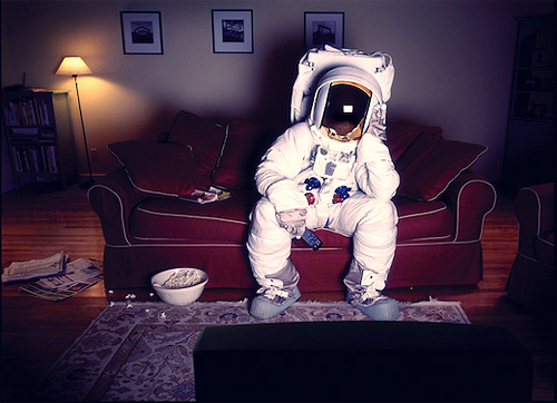 Astronaut on Couch