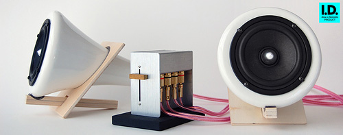 Joey Roth Ceramic Speakers