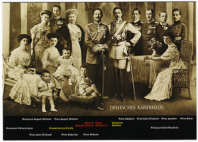 From Wilhelm II to Friedrich, 1859-1995