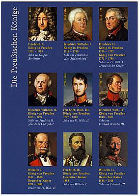 Friedrich I to Wilhelm II, 1701-1918
