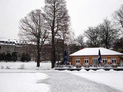 Lietzensee in Winter