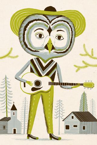 Minstrel owl