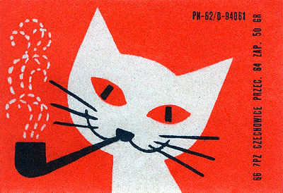 Image from a Polish matchbook