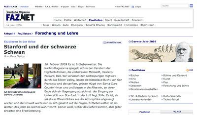 Text: F.A.Z. Bildmaterial: Frank Röth