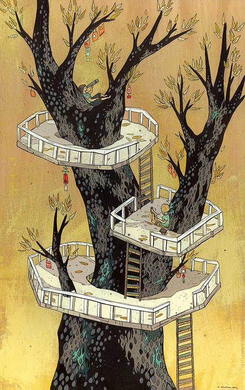 Three Tier Treehouse