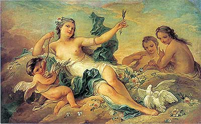 Venus and Nymphs